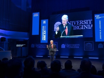 Bill Clinton, White House Alumni Headline UVA'S Presidential Ideas Festival