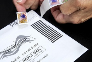 Voting-by-mail is a safe way to cast a ballot during the current pandemic, and does not benefit either political party, according to John Holbein of the Frank Batten School of Leadership and Public Policy.
