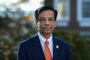 "How is UVA continuing its research enterprise during physical distancing? Vice President for Research Melur K. ""Ram"" Ramasubramanian explains."